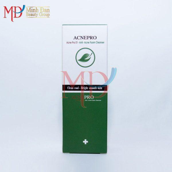 Minh Đan - Acne Pro - Sữa rửa mặt trị mụn độc quyền