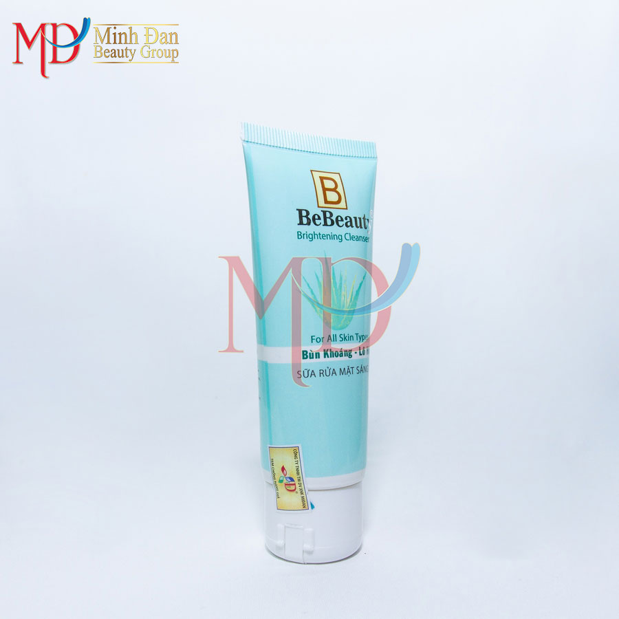Minh Đan - Bebeauty - Sửa rửa mặt sáng da - Bùn khoáng, lô hội