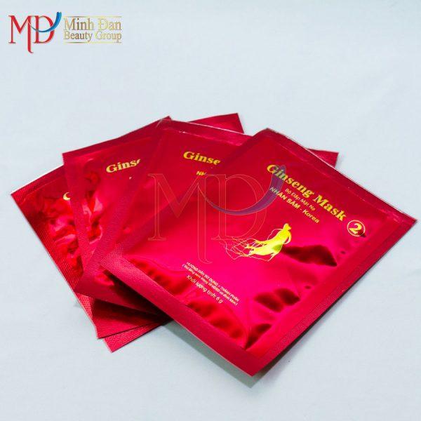 Minh Đan - Tắm mặt hồng sâm White and Smooth Ginseng